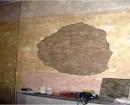 plastering under work
