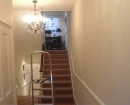 after painting stairs